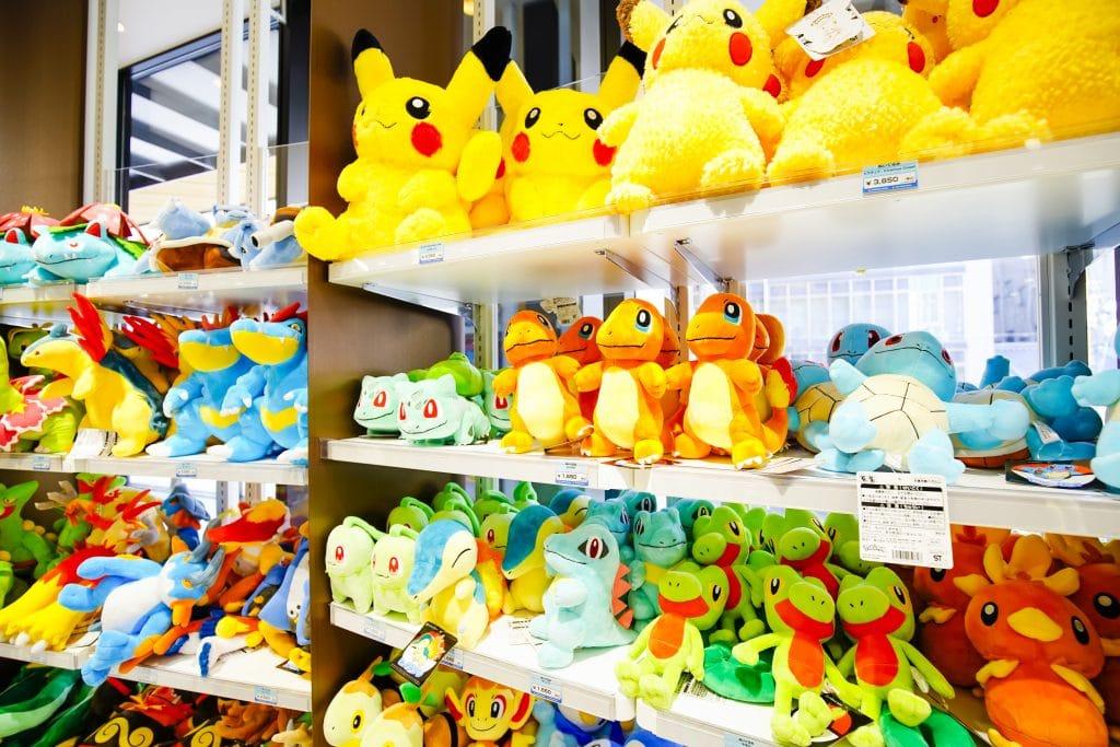 Pokemon Plushes