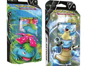 POKEMON TCG Venusaur V & Blastoise V Battle Decks (Pair)