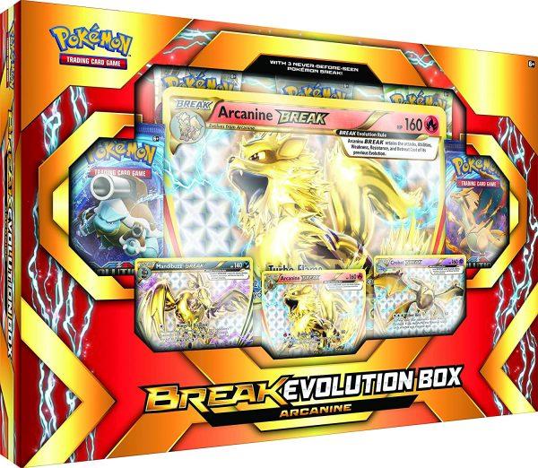 Pokémon TCG- BREAK Evolution Box Featuring Arcanine