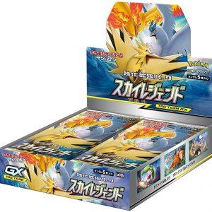 Pokemon Card Game Sun & Moon Reinforcement Expansion Pack Sky Legend Box Japanese