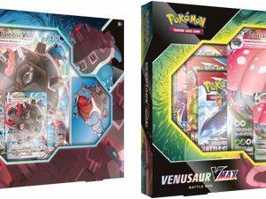 Pokemon TCG- Sword & Shield Venusaur Blastoise Battle Box