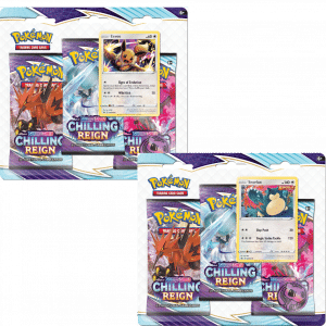 Chilling Reign Three Blister Booster Pair
