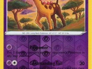 Girafarig - 065/185 - Uncommon Reverse Holo